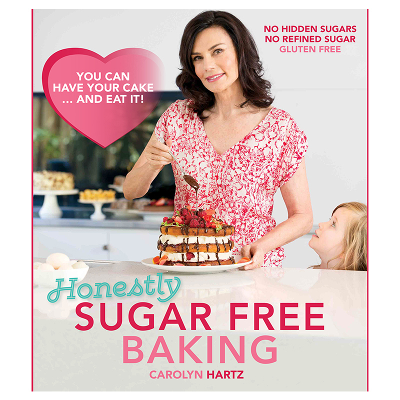 Sugar Free Baking Cookbook by Carolyn Hartz